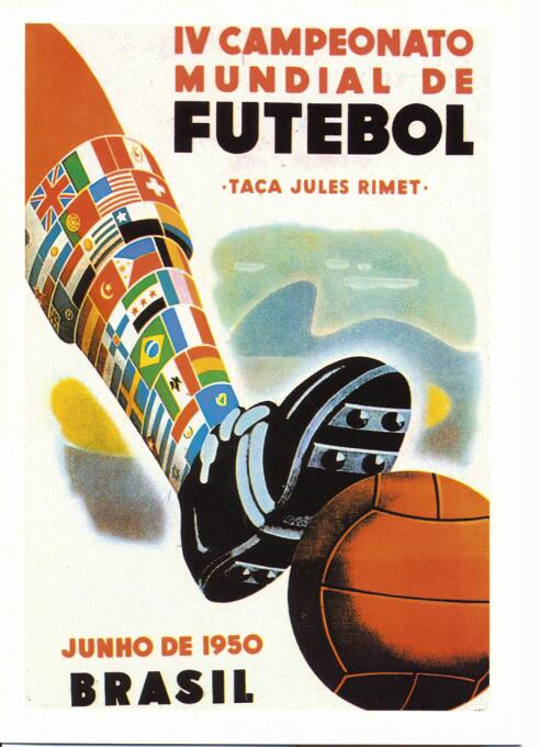 Uno a uno, los pósteres oficiales de la Copa del Mundo hasta Rusia 2018...