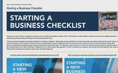 Personas interesadas en abrir pequeños negocios en Los Ángeles ya cuenta...