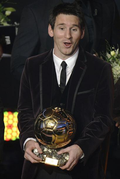 La realidad es que todos veían a Messi como amplio favorito, a&ua...