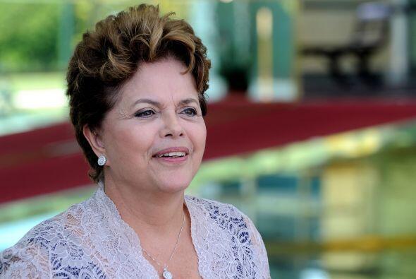 2. DILMA ROUSSEFF. La presidenta de Brasil inició una cruzada nacional c...