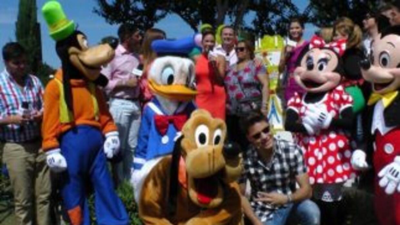Gran celebración por 17 años desde Disney World.