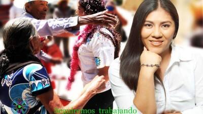 Una foto promocional de la precandidata a diputada Dulce María Re...