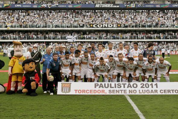 El campeonato paulista, fot previa a la final, el de Minais Gerais y el...