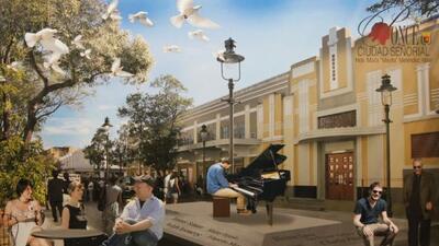 Así luce el propuesto espacio que se construirá en la Ciudad Señorial de...