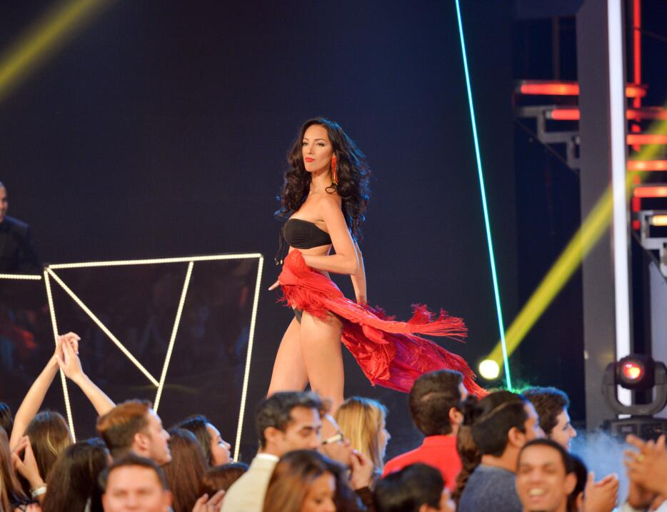 Junto a Yandel y a Pitbull, vimos el primer desfile en bikini de las bel...