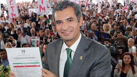 Ochoa Reza tendrá la tarea de dar un nuevo impulso al PRI tras la...