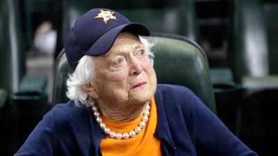 Barbara Bush falleció este martes a los 92 años. El pasado...
