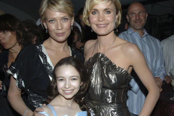En 2006, protagonizó con Radha Mitchell y la pequeña Jodel...