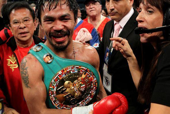 El filipino Manny Pacquiao le dio una paliza al mexicano Antonio Margari...