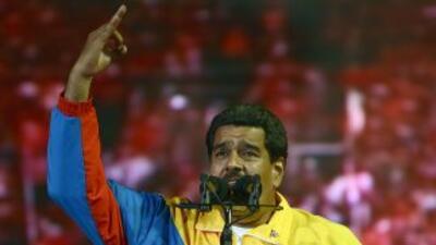 El presidente encargado de Venezuela,Nicolás Maduro.