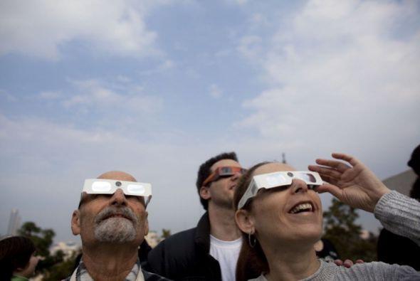 ¿Dónde veremos este gran espectáculo de la naturaleza?  El eclipse será...