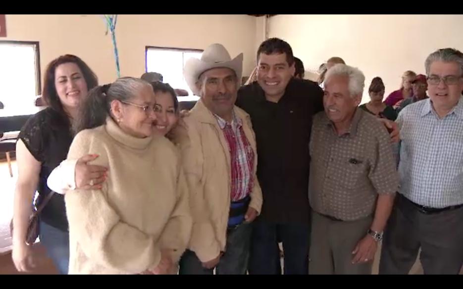 Los Rodríguez tenía 5 años intentando conseguir una visa para sus padres.