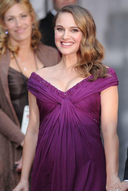 La actriz ha sido una de las famosas embarazadas con más estilo en las a...
