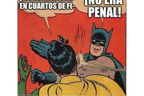 La afición de México no olvida el penal que le marcaron a...
