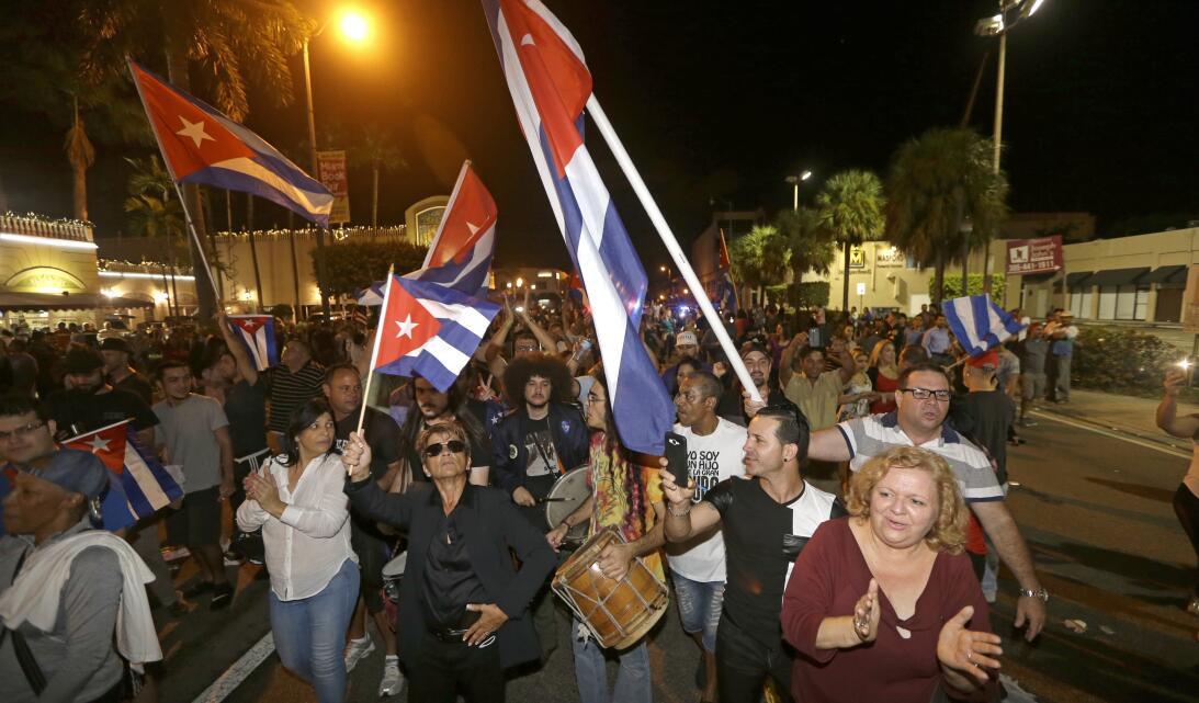 Muerte Fidel Miami