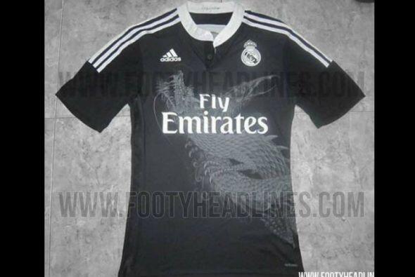 En internet se ha filtrado un diseño del tercer uniforme del Real Madrid...