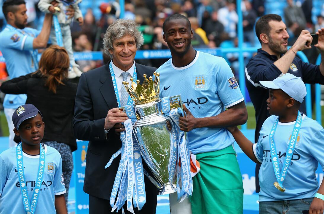 15. Manchester City (2013/2014) - 86 puntos y +65 en la diferencia de gol.