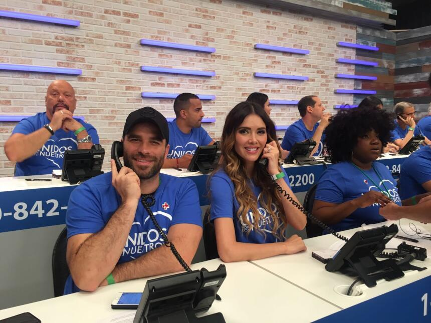 El galán venezolano Alejandro Nones, la actriz mexicana Marlene Favela y...