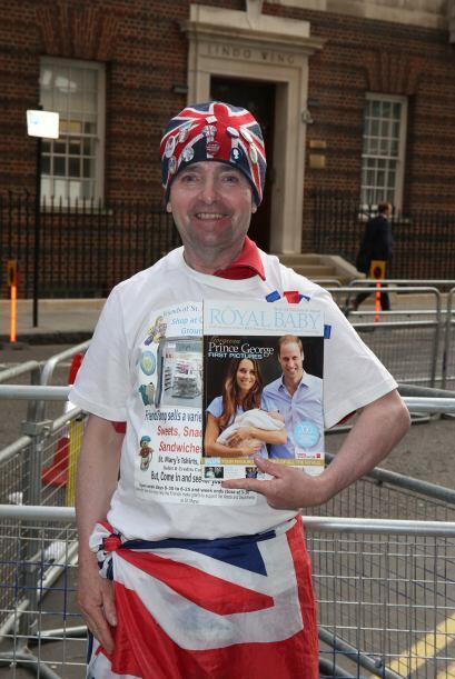 El segundo hijo del matrimonio real está por llegar y a las afueras del...