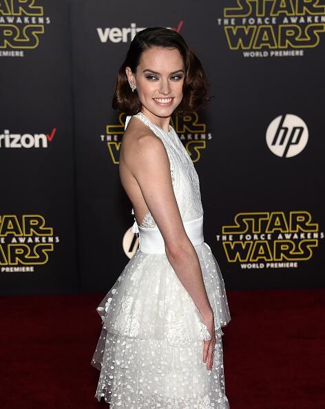 """Las estrellas de Hollywood brillaron con todo el poder de la """"fuerza"""" du..."""