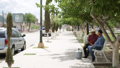 La frontera también vota. Día 12: Colombus -Puerto Palomas