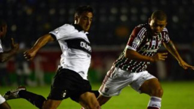 Olimpia le puso la novela complicada al Fluminense al igualarle sin gole...