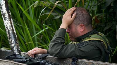 Mueren ocho policías en un atentado en el norte de Colombia