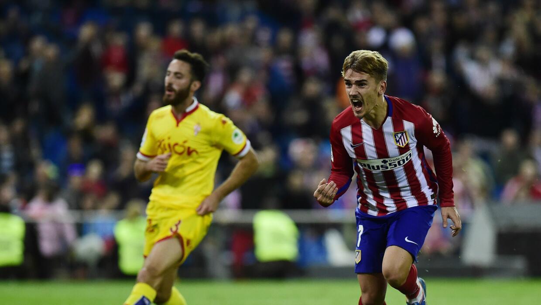 Atlético de Madrid vs. Sporting de Gijón