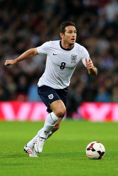 Frank Lampard: Volante ofensivo con un remate poderoso pero también un t...