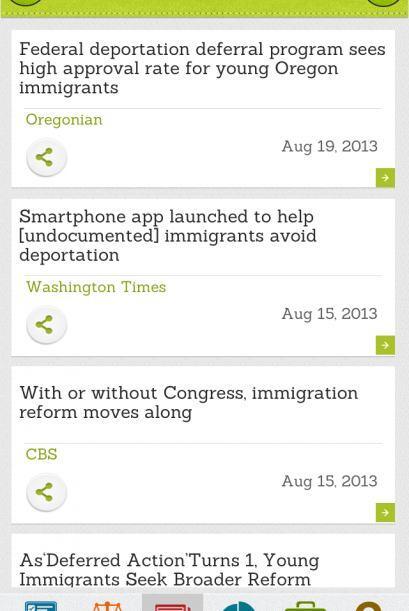 Reciba las últimas noticias en materia de inmigración