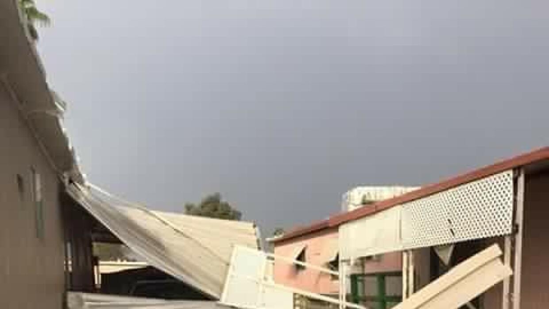 Daños deja tormenta, y alerta, viene más lluvia  heidi.JPG