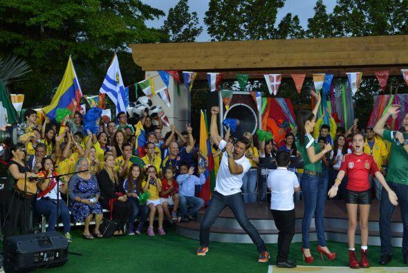 Con un increíble público, representando a todos los países de latinoamér...