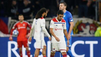 En fotos: Olympique Lyonnais perdona al Hoffenheim y con 10 hombres le empata 2-2