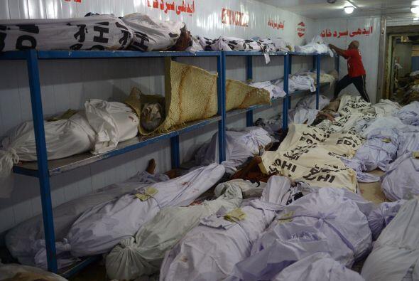 """""""La morgue está desbordada, se están acumulando cuerpos uno encima del o..."""