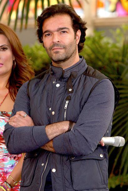 Quien sí estuvo fue Pablo Montero, uno de los protagonistas.