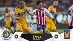 Chivas vs. Tigres en vivo Clausura 2018