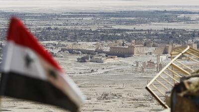 ISIS se retira de la ciudad histórica de Palmira