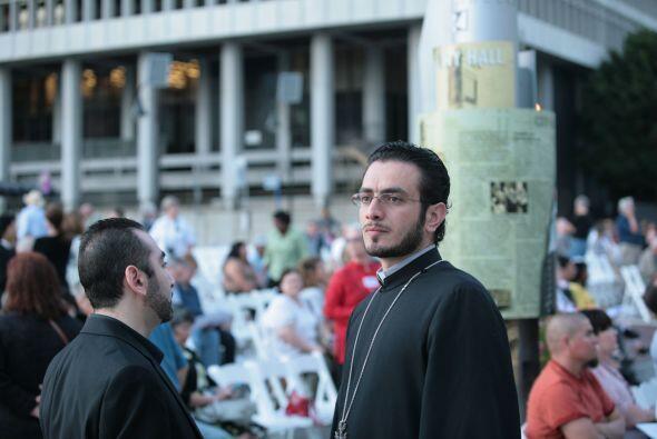 Representantes de varias religiones se dieron cita el sábado en el centr...