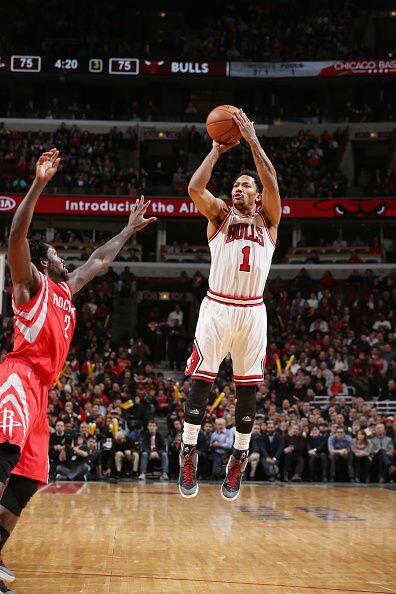 5 de Enero - Rockets (23-11) pierden 105 - 114 con Bulls (25-10). Pau Ga...