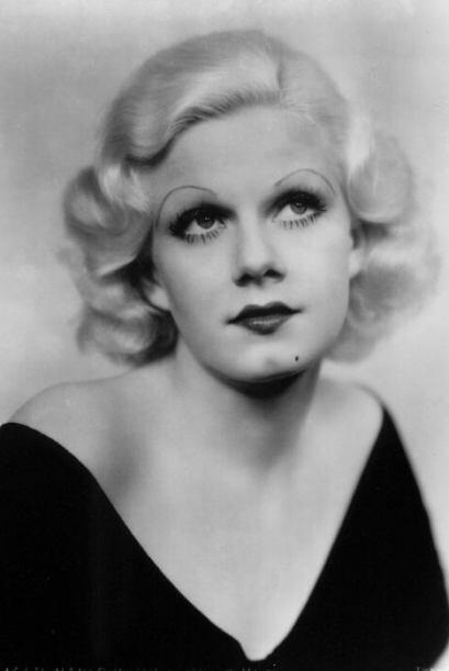 """Jean Harlow Una de las actrices del """"clásico Hollywood"""" más populares, c..."""