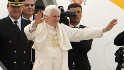 Benedicto pisará suelo mexicano en marzo de este año.