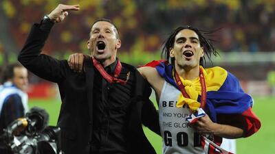 Simeone se motiva previo a la final contra Marsella recordando el título del 2012