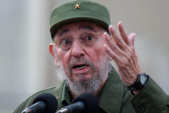 """Fidel Castro considera """"inusual"""", """"drástica"""" y """"arbitraria"""" la inhabilit..."""