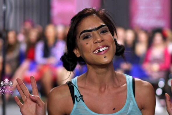 Francisca Lachapel llegó para romper los estereotipos de belleza y está...