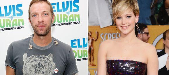 Apenas estaban los paparazzi cazándolos, cuando Chris Martin y JenLaw an...