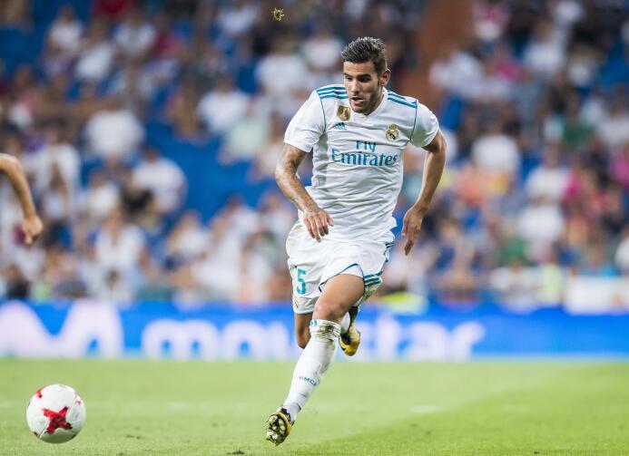 Lateral izquierdo: Theo Hernández (Real Madrid C.F.)