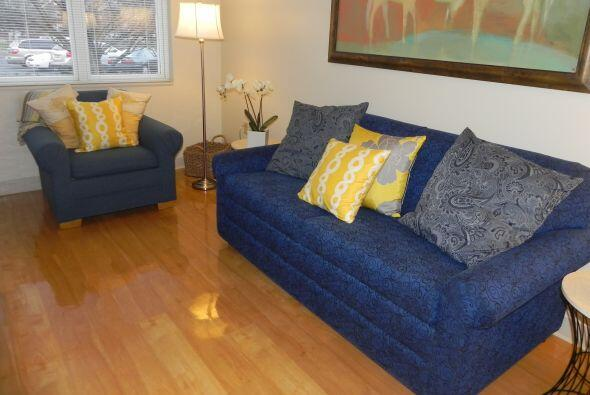 Una acogedora sala encabeza cada apartamento, los niños y sus familiares...