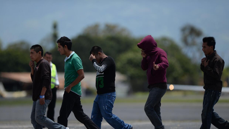 Inmigrantes deportados.