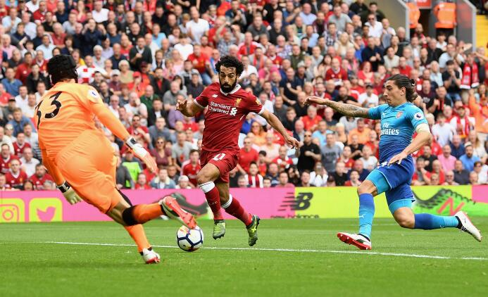 ¡Qué baile! Liverpool apaleó 4-0 al Arsenal y lo mandó al sótano de la P...