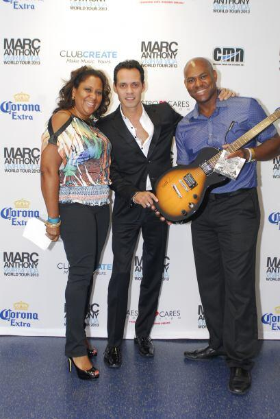 Marc Anthony Meet n Greet Ganadores